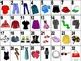 French Clothing-Les Vêtements Vocabulary Teaching Posters