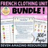 French Clothing Unit Bundle!! [Les Vêtements]