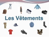 French Clothing (Vetements) Powerpoint Activities and Games