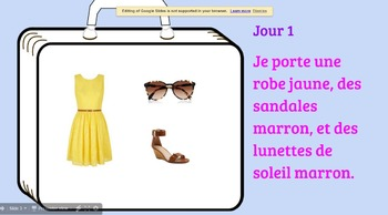 French Clothing and Colors Project
