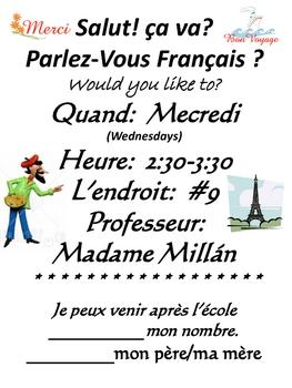 French Club Fun