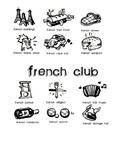 French Club Poster - Affiche Club de Français