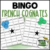 French Cognate Bingo