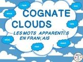 French Cognate Clouds (Les Mots Apparentés)