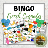 French Cognates Bingo 2