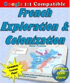 French Colonization and Exploration in the New World Lesson Plan