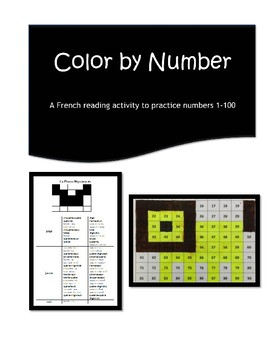 French Color By Number | Mystery Picture
