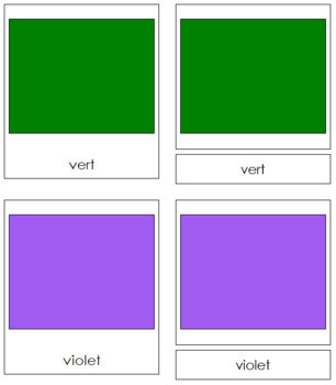 French - Color Cards