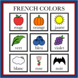 French Color Objects Printables (High Resolution)