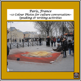 French – Color Pictures for Oral Work – package #2 - Paris, France