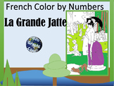 French Color by Numbers - La Grande Jatte