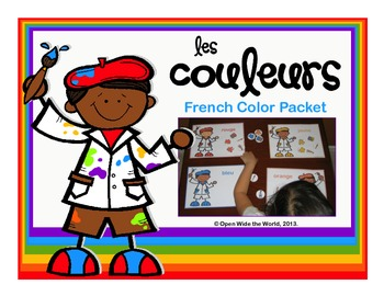 French Colors Artist Packet
