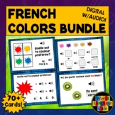 French Colors Boom Cards, French Digital Flashcards, Boom