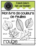 French Colors Fall Leaf Booklet
