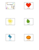 French Colors - Mini Flashcards