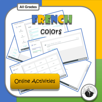 French Colors: Online Activities