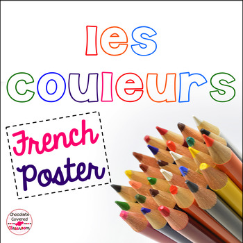 French Colors Poster - Les Couleurs