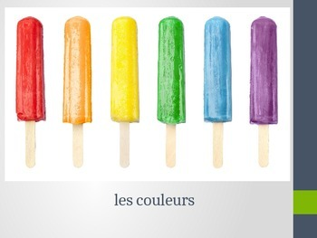 French Colors Powerpoint