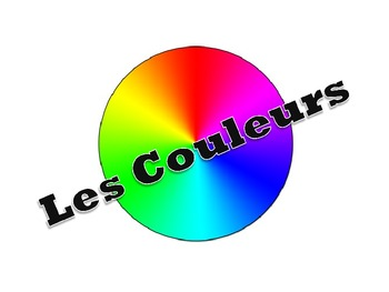 French Colors Powerpoint with Activites to Practice Colors