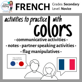 French Colors Practice - Games and Activities