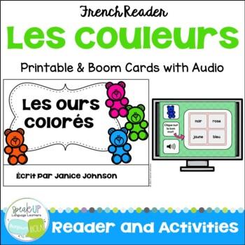 French Colors Reader {Les ours colorés} ~ Simplified for L