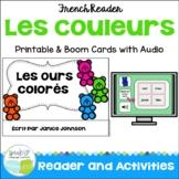 French Colors Reader {Les ours colorés} + BOOM™ Version with Audio