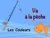 French Colors Vocabulary Game (Va à la pêche-Go Fish)