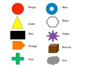 French Colors Vocabulary Game (Va à la pêche-Go Fish)