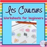 French Colors - exercises, activities, and notes for beginners