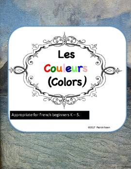 French Colors for Beginners