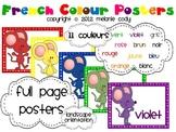 French Colour (Color) Posters {landscape}