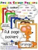 French Colour (Color) Posters {portrait}
