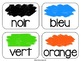 French Colour Flashcards