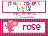French Colour (color) Words {mouse design}