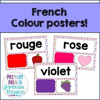 French - Colour posters