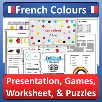 French Colours / Colors (Les Couleurs)