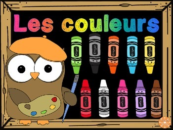 Les couleurs - Vocabulaire FREE French colours