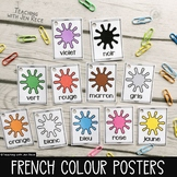 French Colours Word Wall