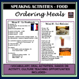 French Ordering meals/food - oral activities - Commandons