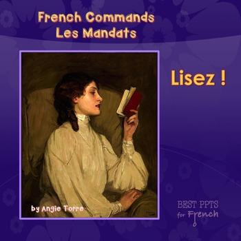French Commands Les Mandats Power Point