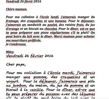 French Comment écrire Une Lettre Unité De Langage French Immersion Primaire