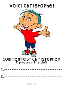 """French: """"Comment es-tu? SENTIMENTS"""", Game, Core & Immersion: PRIMARY"""