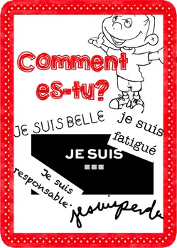"""French: """"Comment es-tu? SENTIMENTS"""", Game, Core & Immersio"""