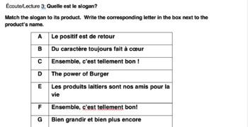 French Food Commercials: Analyse des publicites francophones