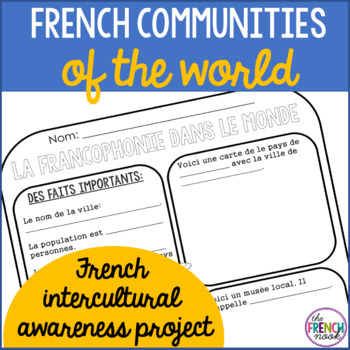 French Communities of the World- An Intercultural Awarenes