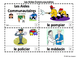 French Community Helpers 2 Emergent Readers - Aides Communautaires