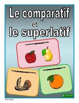 French Comparative and Superlative Adjectives