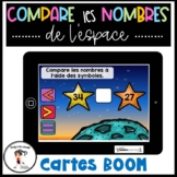 French Compare les nombres 1 à 100 - BOOM CARDS Distance Learning