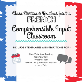 comprehensible input french teaching resources teachers pay teachers