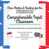 French Comprehensible Input Class Starters